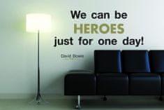 Crearreda zidna dekorativna naljepnica, Heroes L