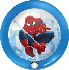 PHILIPS (71765/40/16) Spiderman szenzoros éjszakai fény
