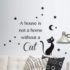 Crearreda zidna dekorativna naljepnica, Cat M