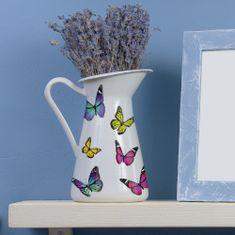 Crearreda dekorativna naljepnica, šareni leptiri