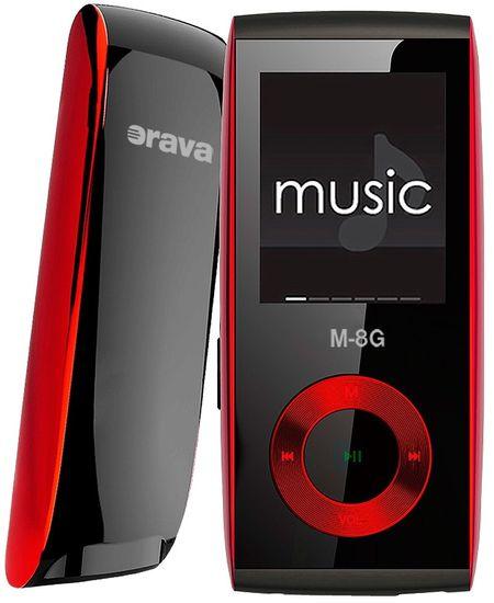 Orava M-8G / 8 GB (Red)