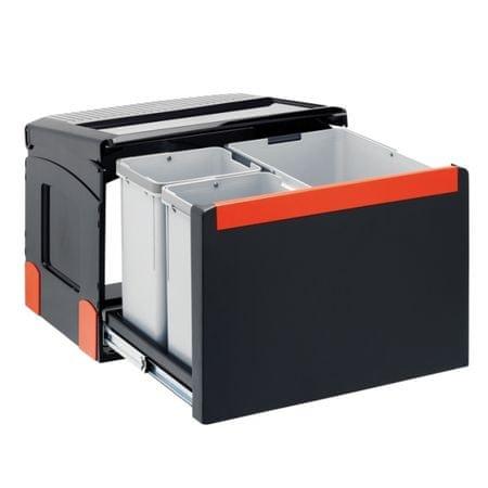 Franke sistem za ločevanje odpadkov Cube 50, avtomatski, 3 delni
