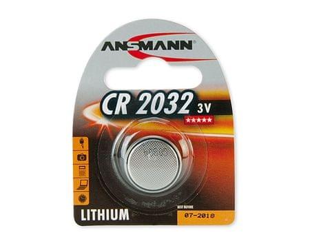 Ansmann Baterija CR2032 Lithium, 1 kos