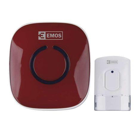 EMOS bežično zvono P57178R, crveno