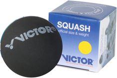Victor Squashový míček žlutý (1 tečka)