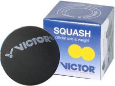 Victor Squashová loptička žltá (2 bodky)