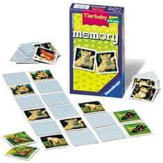 Ravensburger družabna igra Memory z mladički-mini