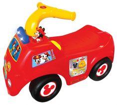 Kiddieland poganjalec gasilski avto Mickey - 049296