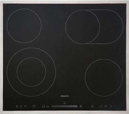 Beko steklokeramična kuhalna plošča HIC64503TX
