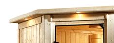 KARIBU Osvětlovací římsa k sauně Kira 1