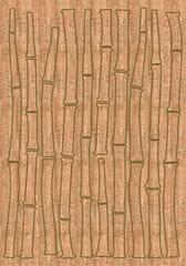Crearreda zidna dekorativna naljepnica juta, bambus XXL