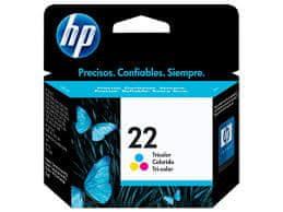 HP kartuša C9352CE, barvna #22XL