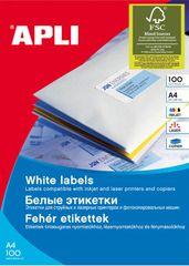 Apli bijele naljepnice 38 x 21,2 mm, 65/stranica
