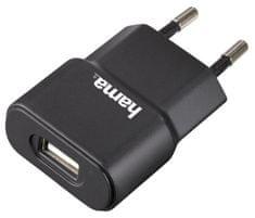 Hama Síťová USB nabíječka, 5V/1A