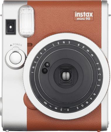 FujiFilm fotoaparat Instax Mini 90, rjav