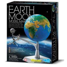 4M model Zemlje z luno