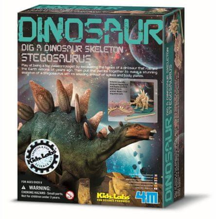 4M dinozaver stegozaver