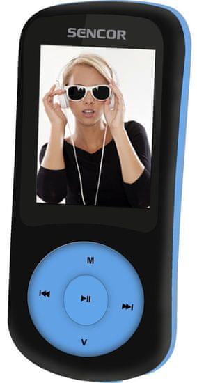 SENCOR SFP 5870 BBU / 8 GB (Blue) - rozbaleno