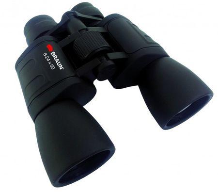 Braun Phototechnik 8 Zoom daljnogled 24 x 50 cm, črn