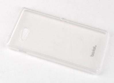 Jekod silikonski ovitek za GSM Sony Xperia M2, prozoren (D2303 TPU/T) + zaščitna folija