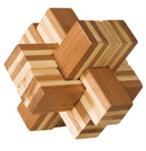 "Fridolin IQ test bambus ""Block-Cross"""