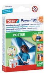 Tesa lepilni lističi Powerstrips Poster, obojestranski