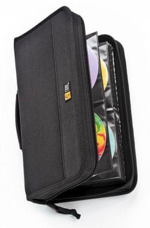Case Logic torba za 64 CD medijev, črna