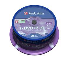 Verbatim DVD+R DL 8.5GB 8x Spindle 25-pack