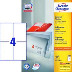 Avery Zweckform etikete 3483, 105x148 mm