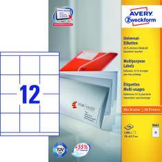 Avery Zweckform etikete 3661, 70x67.7 mm
