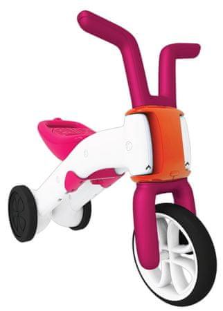 Chillafish dječji bicikl Bunzi 2u1, rozi
