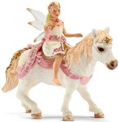 Schleich Bayala: nežna vilinka Lily jezdi ponija