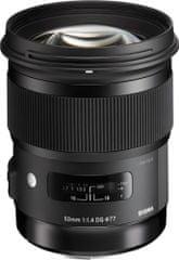Sigma 50/1.4 DG HSM ART (Nikon) Fix objektív