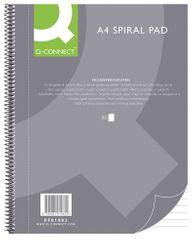 Connect blok A4, kolegij črtni s spiral, 80-listni