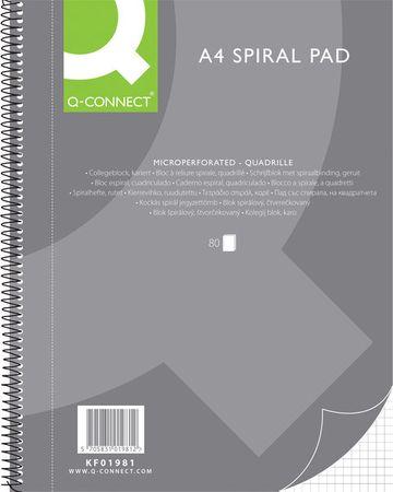 Connect blok A4, kolegij karo s spiralo, 80-listni