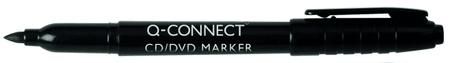 Connect označevalec CD/DVD medijev, 1 mm, črn