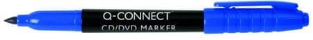 Connect označevalec CD/DVD medijev, 1 mm, moder