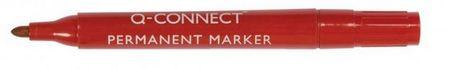 Connect označevalec besedila, ošiljen, 1,5-3 mm, rdeč