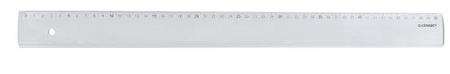 Connect ravnalo, PVC, prozirno, 50 cm