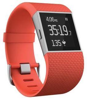 Fitbit Surge sportóra, narancssárga