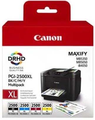 Canon komplet kartuš PGI-2500XL C/M/Y/BK