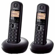 Panasonic brezvrvični telefon DECT (KX-TGB212FXB)
