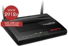 DrayTek usmerjevalnik Vigor 2912 Wi-Fi