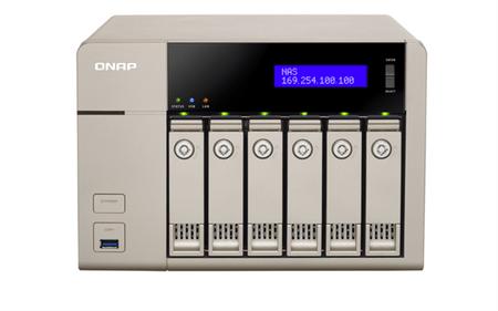 Qnap NAS server za 6 diskova (TVS-663)