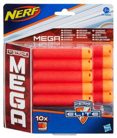 NERF N-Strike Elite Mega Lőszer utántöltő készlet, 10 db
