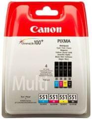 Canon tinte CLI-551 C/M/Y/BK)