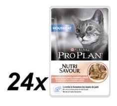 Purina Pro Plan mokra hrana za kućne mačke, losos, 24x85g