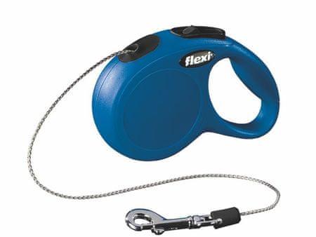 Flexi New Classic Póráz XS 3m/8kg, Kék
