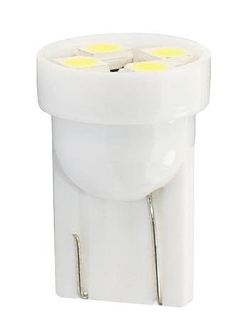 M-Tech žarnica LED 12V W5W-T10 4xSMD3528, 2 kosa