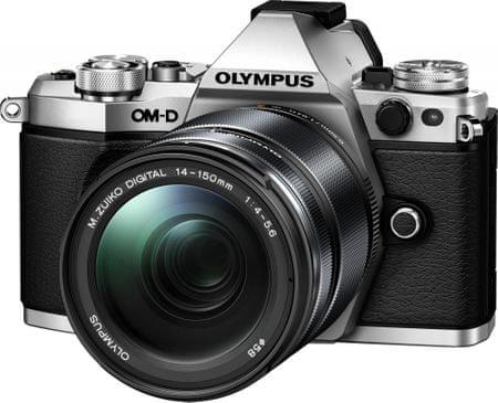Olympus OM-D E-M5 Mark II Silver + 14-150 mm